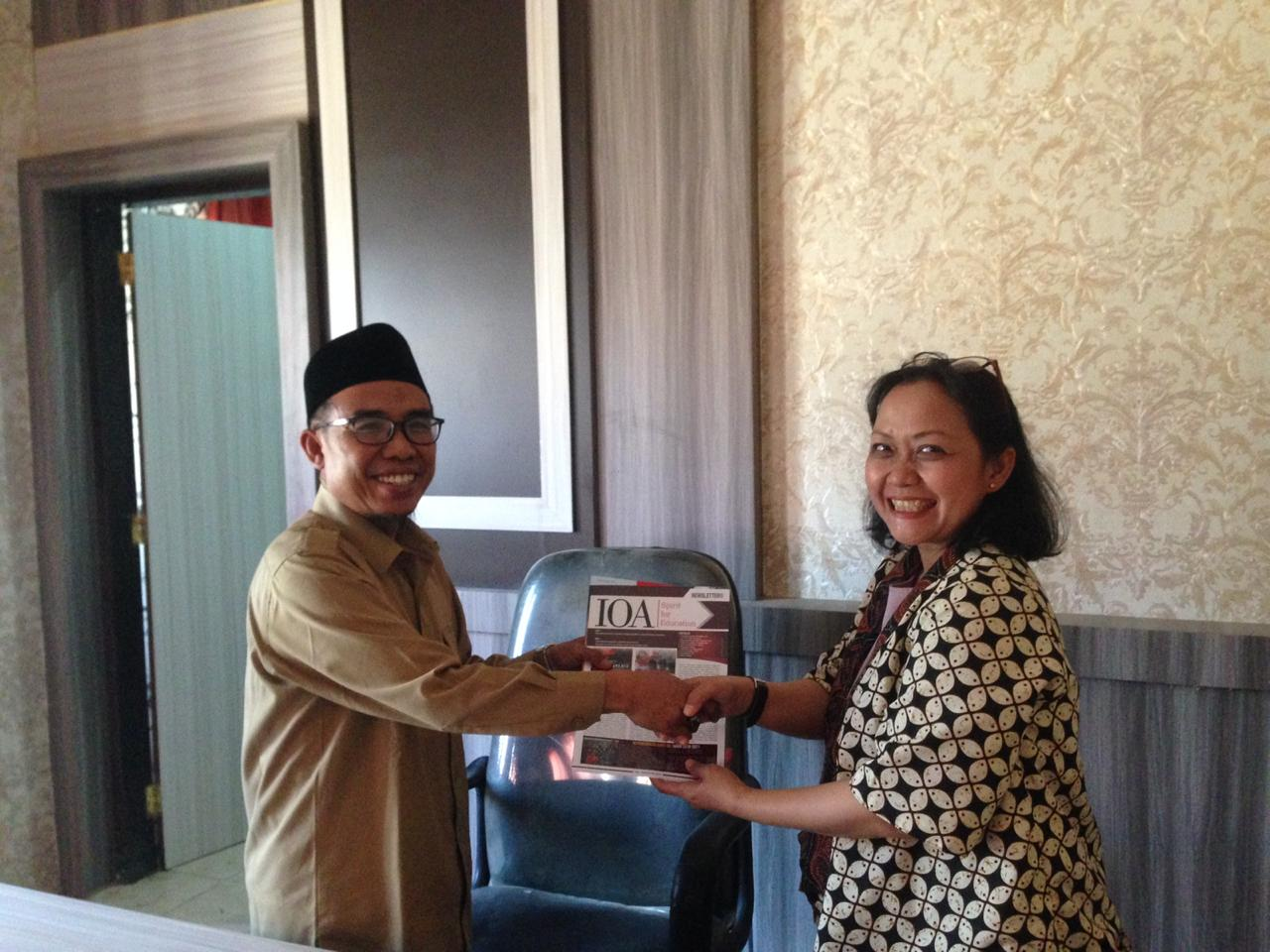 IOA EXECUTIVE DIRECTOR'S VISIT TO NORTH LOMBOK
