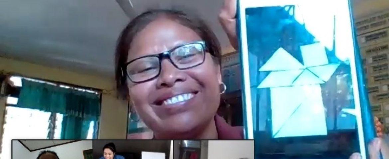 PELATIHAN DARING TEACHER-MADE MATHEMATICS TEACHING AIDS SUMBA TIMUR, 10-15 AGUSTUS 2020